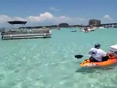 Crab Island Pontoon Rentals 1 850 607 0071 Youtube