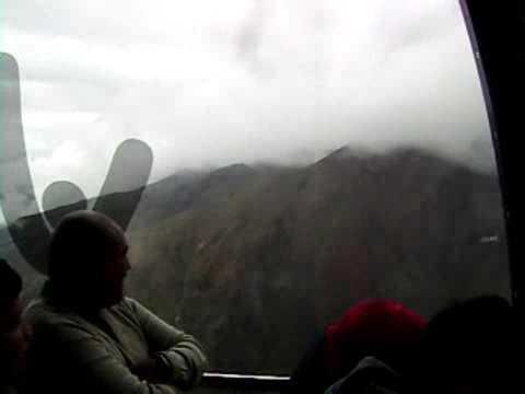 Birthday on The cable car Merida. Venezuela.