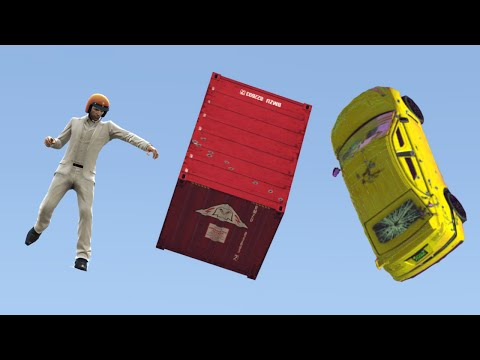SMASH THE BLOCKS CHALLENGE! (GTA 5 Funny Moments)