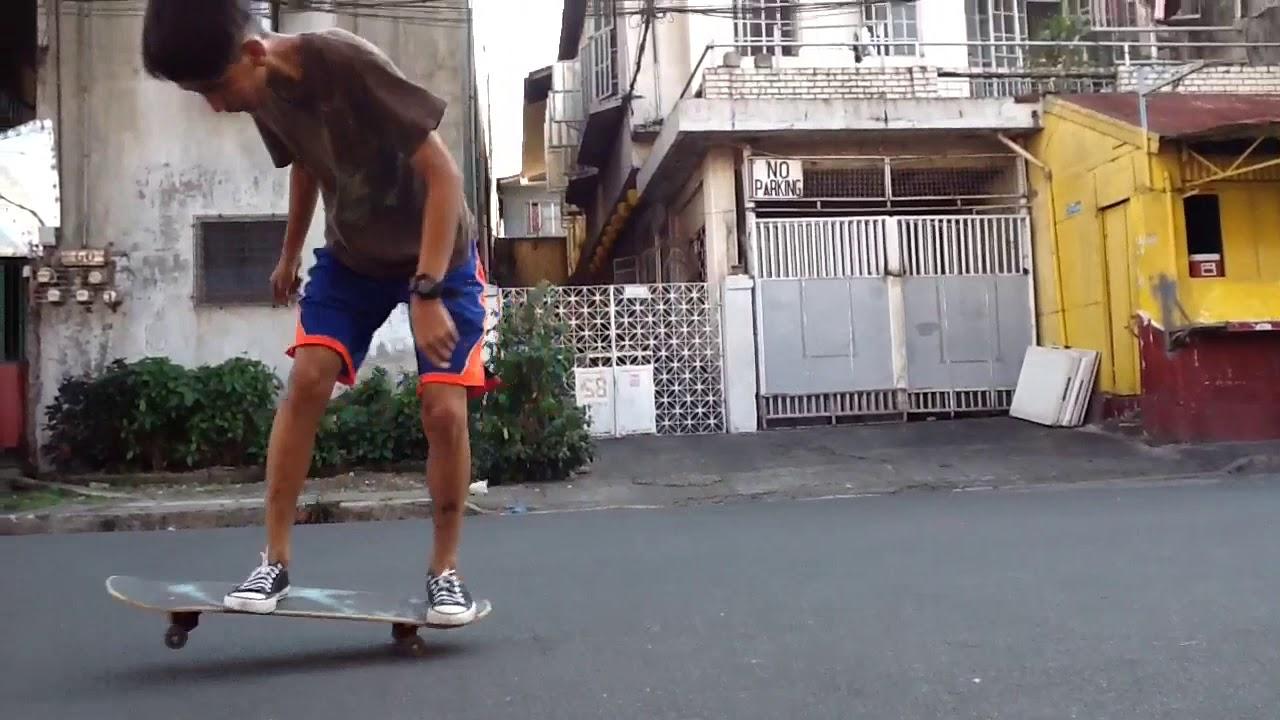 ONE TRICKS SKATEBOARD VARIAL KICKFLIP (phillipines) - YouTube