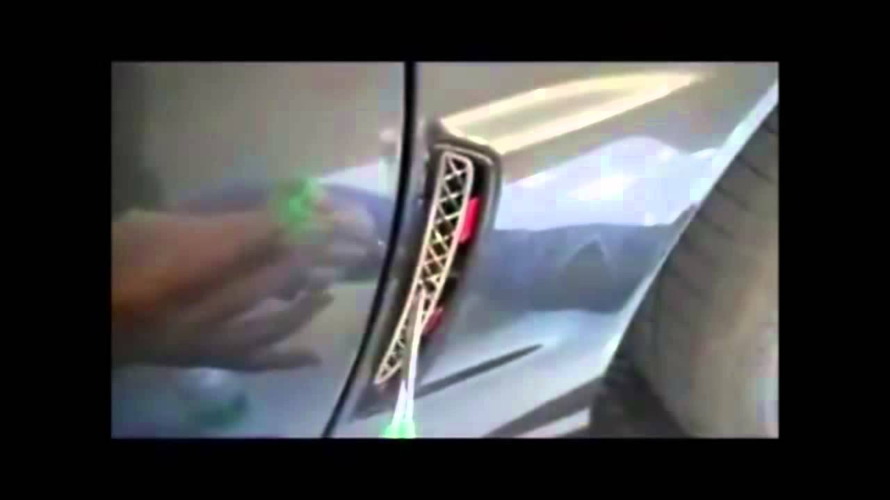 Mid America Motorworks >> How to Install Rear Z06 Corvette Side Cove Screen - YouTube