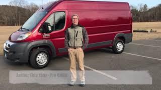 2018 Dodge Promaster 2500 Camper Van