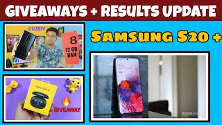 #Giveaway Android Authority Samsung Galaxy S20 Giveaway,Prince Chandra One plus 8 Giveaway Updated,