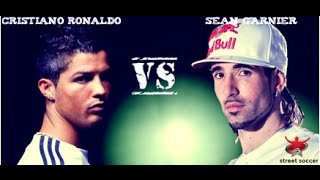 Repeat youtube video Cristiano Ronaldo VS sean garnier street performance