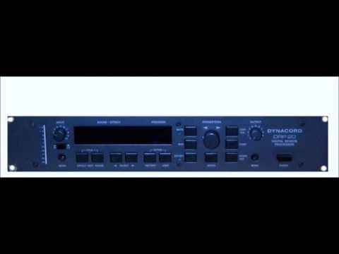 Dynacord DRP-20 Ambient Reverb Demo