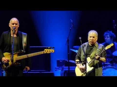 Every Breath You Take (Sting) - Late In The Evening (Paul Simon) - Anaheim CA - Feb 16, 2014