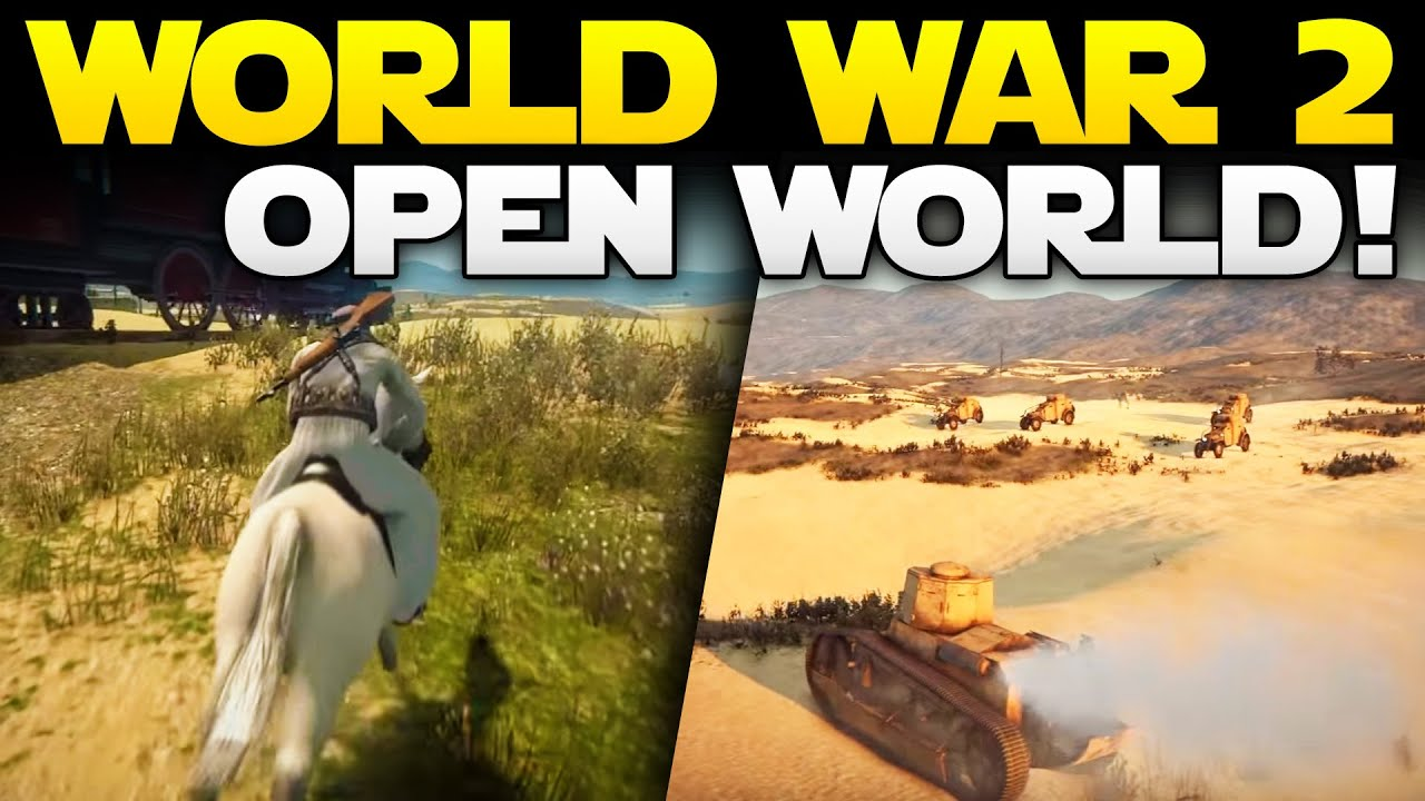 New world war 1 ww 2 open world game badiya with a hint of red youtube premium gumiabroncs Gallery