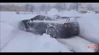 Машины Которые Любят Зиму/Winter Drift Cars Love Winter