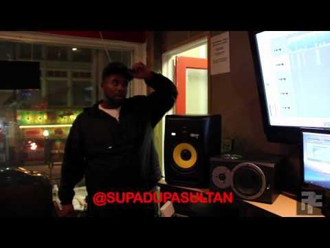 DJ Drama Finishing up Chris Brown's new Mixtape In My Zone 2