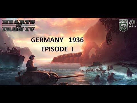 Hearts of Iron 4 Germany Episode I