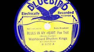 """The Blues In My Heart"" - The Washboard Rhythm Kings (1931 Bluebird/RCA Victor)"