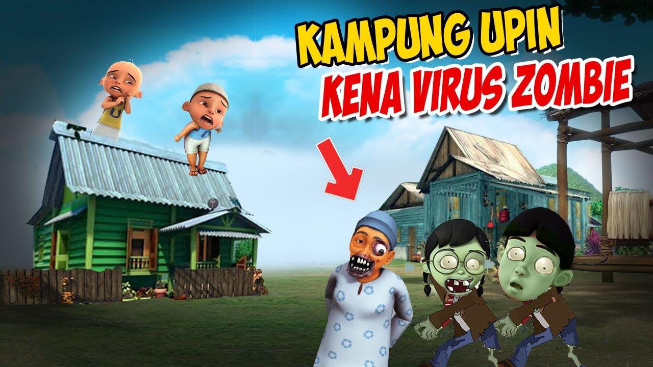 Opah Kena Virus Zombie , Upin ipin takut ! GTA Lucu