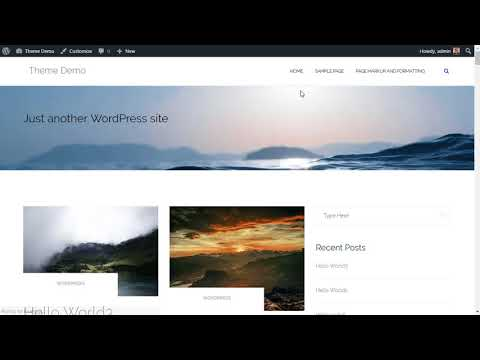 Shapely WordPress Theme Demo & Review