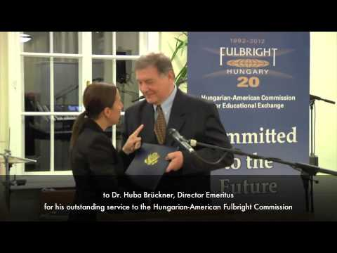 Fulbright reception at the Hungarian Institute of International Affairs