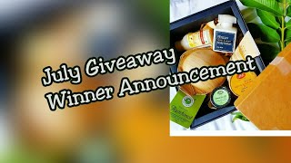 GreenRoute Box Giveaway Winner Announcement thumbnail