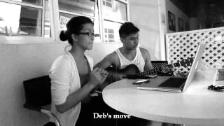 """I See Fire"" Ed Sheeran Cover by Aren & Deb [Behind The Scenes]"