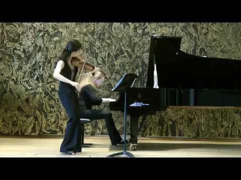 Beethoven Sonate op.30 N3 G-dur Christel Lee & Tatiana Chernichka