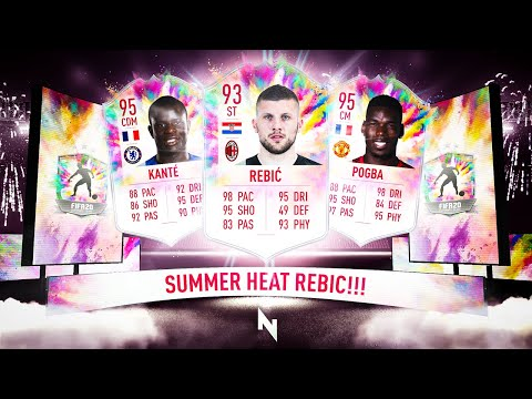 93 SBC REBIC & SUMMER HEAT POGBA & KANTE VOTE! - FIFA 20 Ultimate Team from YouTube · Duration:  12 minutes 51 seconds