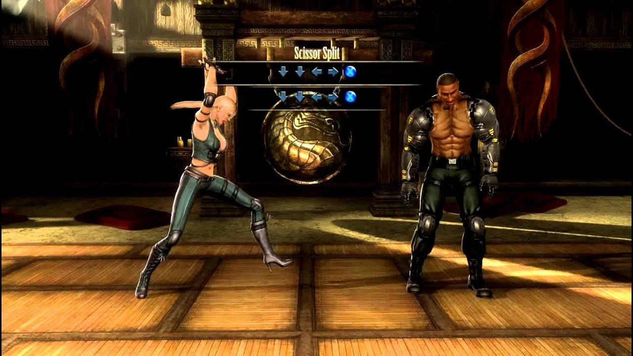 Mortal Kombat Komplete Edition - Глава 2 - Sonya Blade - без комментариев - YouTube