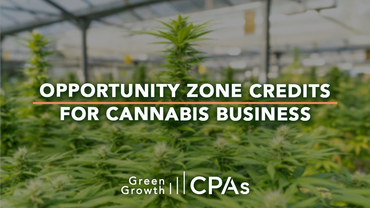 Opportunity Zone Credits: Cannabis Real Estate Investments in Qualified Opportunity Zones