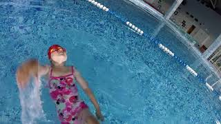 Плаваем на спине Кролль 5лет