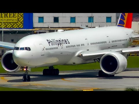 20 HEAVY Aircraft DEPARTURES At The AMAZING PHILIPPINES | Manila Airport Plane Spotting
