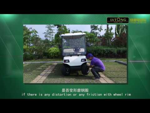 Hướng dẫn kiểm tra áp suất bánh xe ô tô điện LVTONG