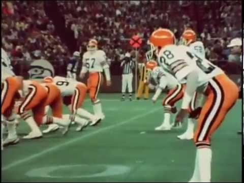 1982 Browns at Seahawks Game 1