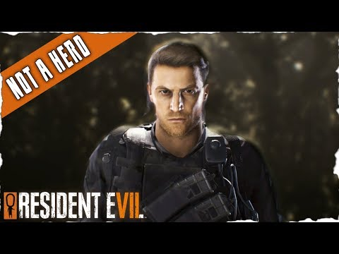 CHRIS REDFIELD! - Not A Hero - RESIDENT EVIL 7 DLC FULL GAMEPLAY