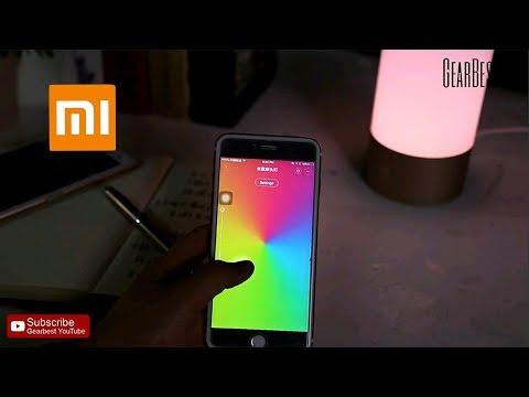 Xiaomi Mijia Bedside Lamp Bluetooth Control WiFi - Gearbest.com