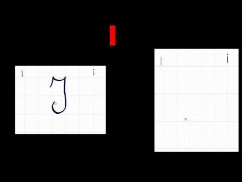 Alfabeto corsivo (perfetto) Italiano