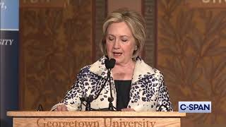 Hillary Clinton on President Trump and Impeachment Inquiry