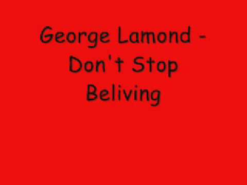 George Lamond -  Don't Stop Believing