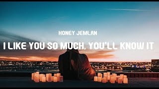 Honey Jemlan I Like You So Much You Ll Know It Cover Lyrics