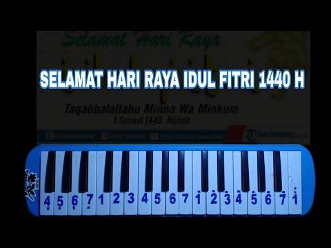 Not Pianika Selamat Hari Raya Idul Fitri Gita Gutawa Youtube