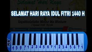 Not Pianika Selamat Hari Raya Idul Fitri (Gita Gutawa)