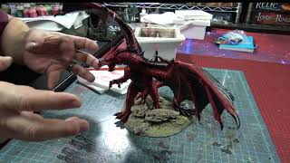 Painting with Rob - Reaper Bones - Dragon