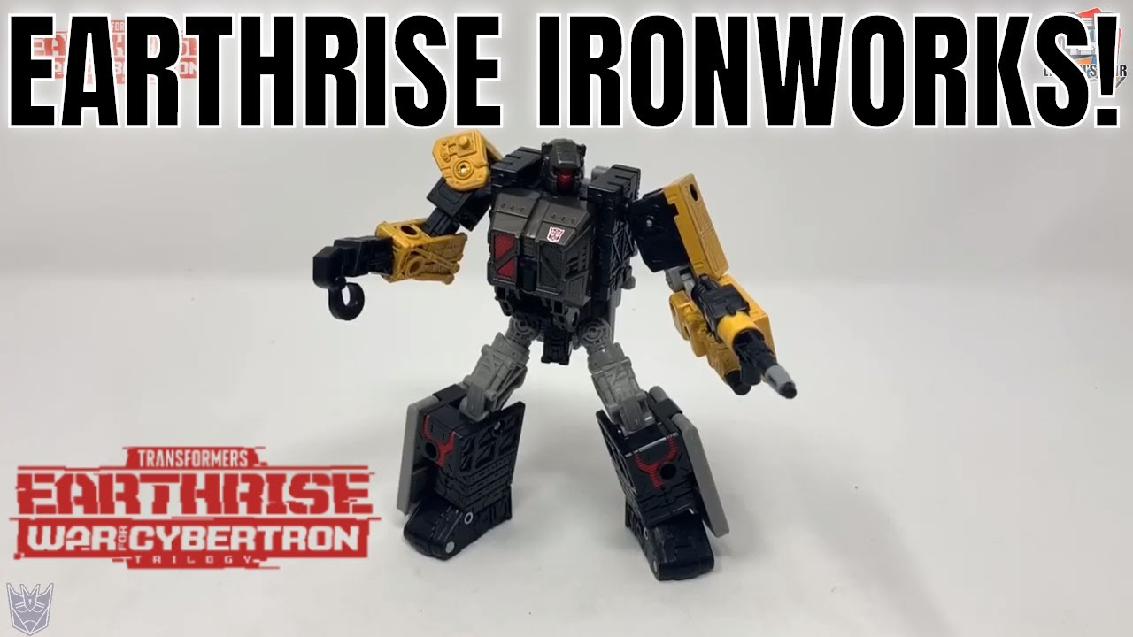 Transformers Earthrise Modulator WFC-E8 Ironworks Review by Larkin's Lair