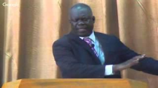 Pasteur Célestin DIANGO, Reaction face à une action 11-10-2015
