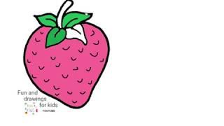Dibujo De Fresa - Frutilla