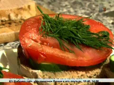 Рецепт дня.Готовим правильный бутерброд