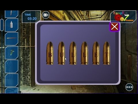 Escape From Winchester Rifle Factory walkthrough Escape007Games.