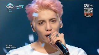 160526 [HD] JONGHYUN (종현) - White T-Shirt (ComeBack Stage) @ MCD