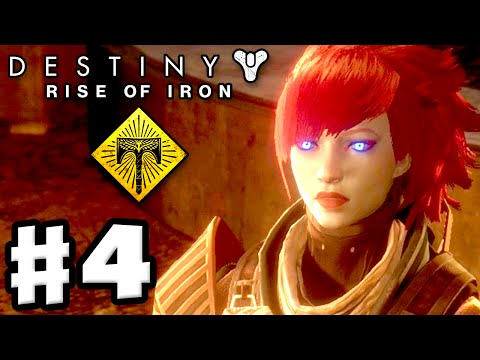 Destiny: Rise of Iron - Gameplay Walkthrough Part 4 - Download Complete! Iron Tomb! (PS4, Xbox One)