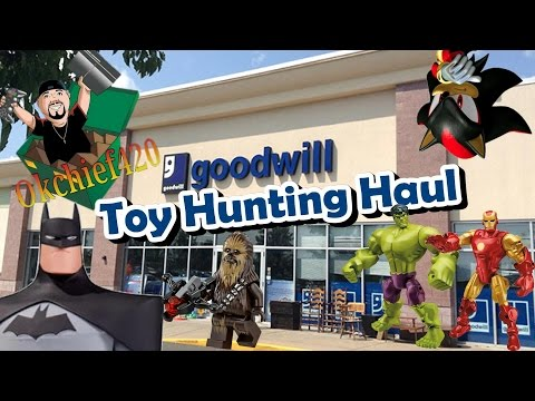Okchief Toy Hunting EP. 64 Awesome Toy Haul From Goodwill