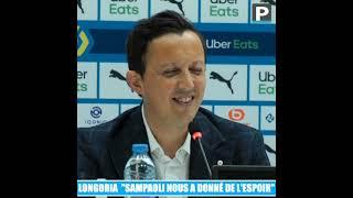 "Pablo Longoria : ""Le vrai OM de Sampaoli va arriver la saison prochaine"""