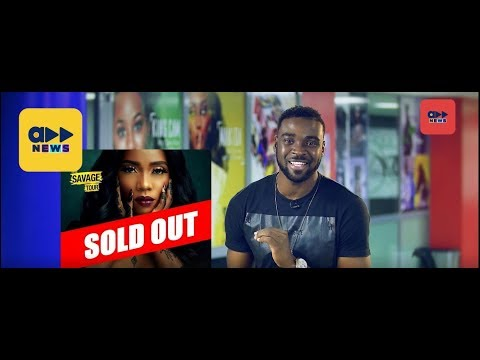 """Accelerate News- Tiwa Savage's """" Savage Tour"""" Is Sold Out"""