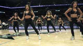 Spurs Silver Dancers - This is What You Came For - Jan 2017