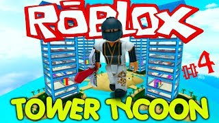 Roblox Tower Tycoon & Tutorial #4 (AndroidIOS)