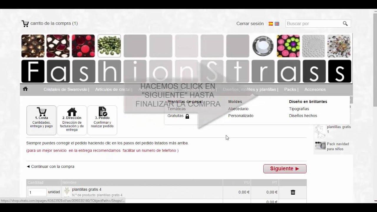 Cómo descargar plantillas para crear diseños - YouTube